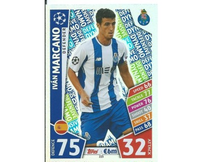 MATCH ATTAX CHAMPIONS LEAGUE 17/18 FC PORTO Nº 223