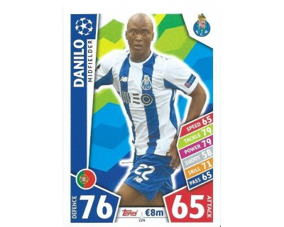 MATCH ATTAX CHAMPIONS LEAGUE 17/18 FC PORTO Nº 224
