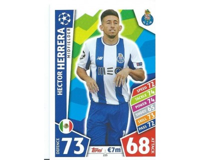 MATCH ATTAX CHAMPIONS LEAGUE 17/18 FC PORTO Nº 225