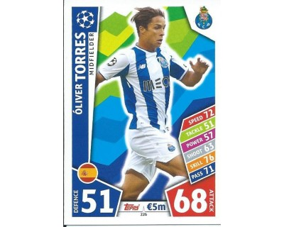 MATCH ATTAX CHAMPIONS LEAGUE 17/18 FC PORTO Nº 226