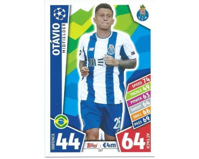MATCH ATTAX CHAMPIONS LEAGUE 17/18 FC PORTO Nº 227