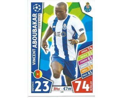 MATCH ATTAX CHAMPIONS LEAGUE 17/18 FC PORTO Nº 228