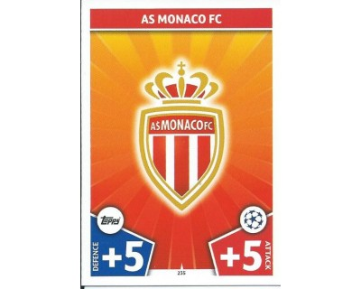 MATCH ATTAX CHAMPIONS LEAGUE 17/18 AS MONACO FC Nº 235
