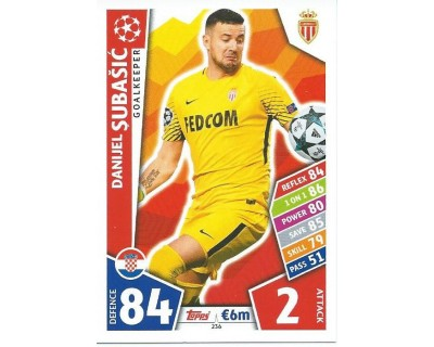 MATCH ATTAX CHAMPIONS LEAGUE 17/18 AS MONACO FC Nº 236