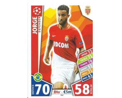 MATCH ATTAX CHAMPIONS LEAGUE 17/18 AS MONACO FC Nº 242