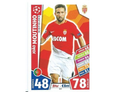 MATCH ATTAX CHAMPIONS LEAGUE 17/18 AS MONACO FC Nº 243