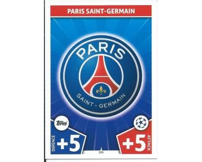 MATCH ATTAX CHAMPIONS LEAGUE 17/18 PARIS SAINT-GERMAIN Nº 253