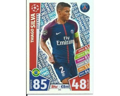 MATCH ATTAX CHAMPIONS LEAGUE 17/18 PARIS SAINT-GERMAIN Nº 256