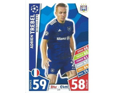 MATCH ATTAX CHAMPIONS LEAGUE 17/18 RSC ANDERLECHT Nº 279