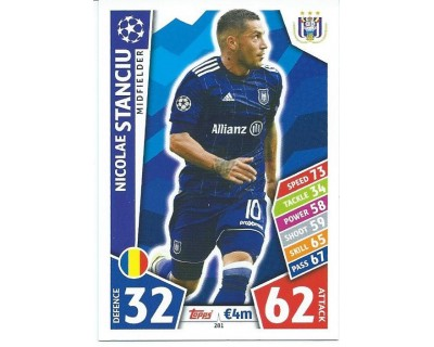 MATCH ATTAX CHAMPIONS LEAGUE 17/18 RSC ANDERLECHT Nº 281