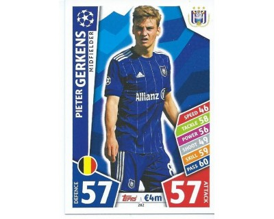 MATCH ATTAX CHAMPIONS LEAGUE 17/18 RSC ANDERLECHT Nº 282