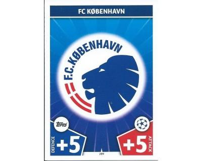 MATCH ATTAX CHAMPIONS LEAGUE 17/18 FC KOBENHAVN Nº 289