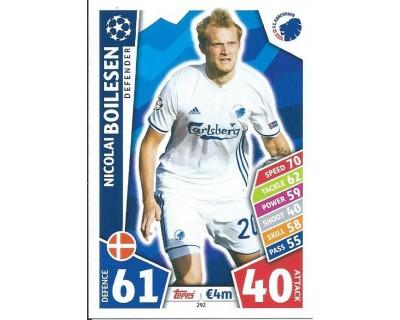 MATCH ATTAX CHAMPIONS LEAGUE 17/18 FC KOBENHAVN Nº 292