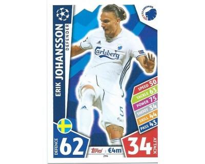 MATCH ATTAX CHAMPIONS LEAGUE 17/18 FC KOBENHAVN Nº 294
