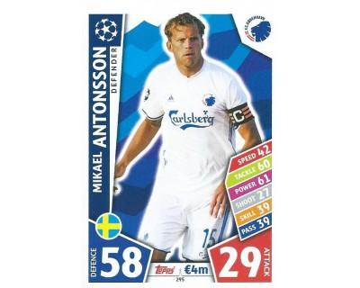 MATCH ATTAX CHAMPIONS LEAGUE 17/18 FC KOBENHAVN Nº 295