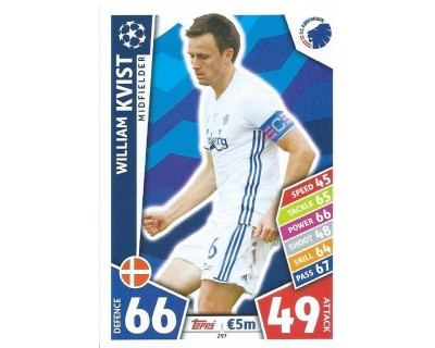 MATCH ATTAX CHAMPIONS LEAGUE 17/18 FC KOBENHAVN Nº 297