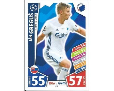 MATCH ATTAX CHAMPIONS LEAGUE 17/18 FC KOBENHAVN Nº 298