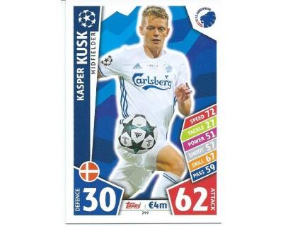 MATCH ATTAX CHAMPIONS LEAGUE 17/18 FC KOBENHAVN Nº 299