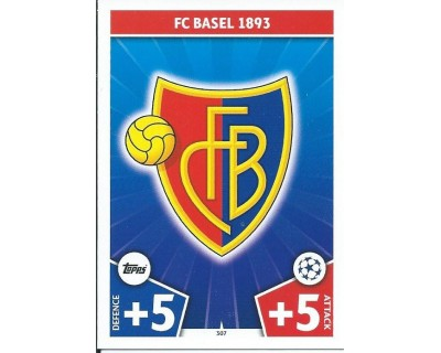 MATCH ATTAX CHAMPIONS LEAGUE 17/18 FC BASEL 1893 Nº 307