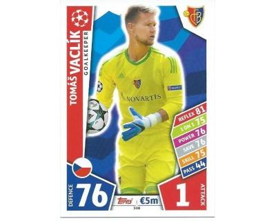 MATCH ATTAX CHAMPIONS LEAGUE 17/18 FC BASEL 1893 Nº 308
