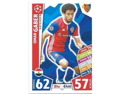 MATCH ATTAX CHAMPIONS LEAGUE 17/18 FC BASEL 1893 Nº 312