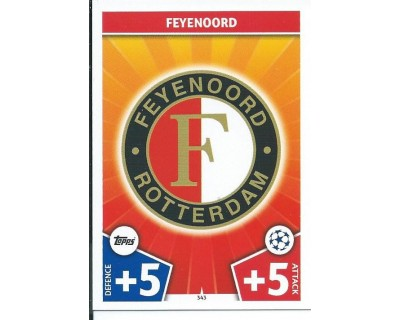 MATCH ATTAX CHAMPIONS LEAGUE 17/18 FEYENOORD Nº 343