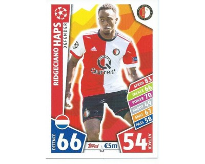 MATCH ATTAX CHAMPIONS LEAGUE 17/18 FEYENOORD Nº 345