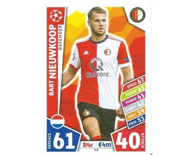 MATCH ATTAX CHAMPIONS LEAGUE 17/18 FEYENOORD Nº 350