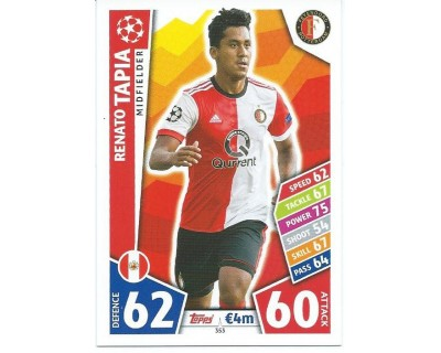MATCH ATTAX CHAMPIONS LEAGUE 17/18 FEYENOORD Nº 353