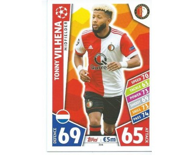 MATCH ATTAX CHAMPIONS LEAGUE 17/18 FEYENOORD Nº 354