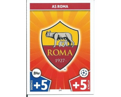MATCH ATTAX CHAMPIONS LEAGUE 17/18 AS ROMA Nº 379