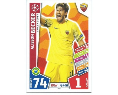 MATCH ATTAX CHAMPIONS LEAGUE 17/18 AS ROMA Nº 380