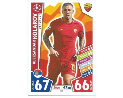 MATCH ATTAX CHAMPIONS LEAGUE 17/18 AS ROMA Nº 381