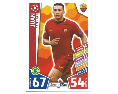 MATCH ATTAX CHAMPIONS LEAGUE 17/18 AS ROMA Nº 382