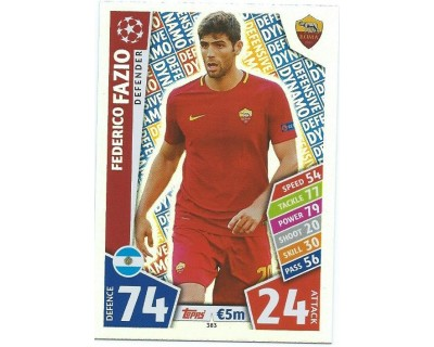MATCH ATTAX CHAMPIONS LEAGUE 17/18 AS ROMA Nº 383