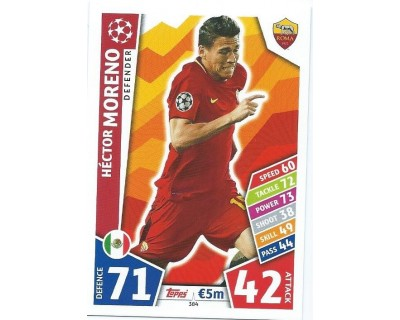 MATCH ATTAX CHAMPIONS LEAGUE 17/18 AS ROMA Nº 384
