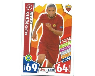 MATCH ATTAX CHAMPIONS LEAGUE 17/18 AS ROMA Nº 385