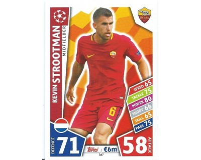 MATCH ATTAX CHAMPIONS LEAGUE 17/18 AS ROMA Nº 387