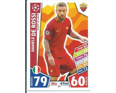 MATCH ATTAX CHAMPIONS LEAGUE 17/18 AS ROMA Nº 388