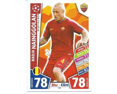 MATCH ATTAX CHAMPIONS LEAGUE 17/18 AS ROMA Nº 389