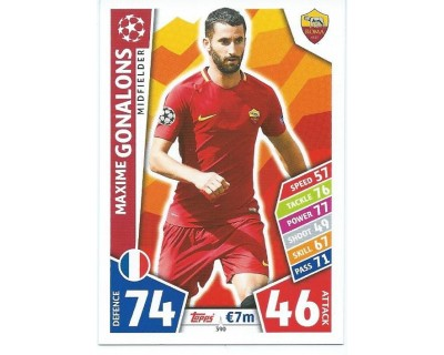 MATCH ATTAX CHAMPIONS LEAGUE 17/18 AS ROMA Nº 390
