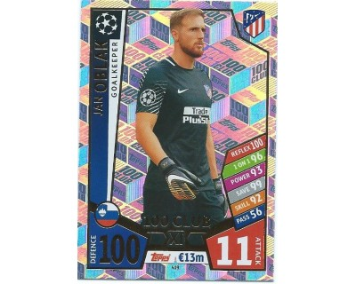 MATCH ATTAX CHAMPIONS LEAGUE 17/18 100 CLUB Nº 419