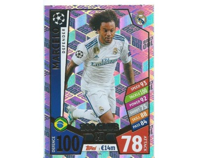 MATCH ATTAX CHAMPIONS LEAGUE 17/18 100 CLUB Nº 421