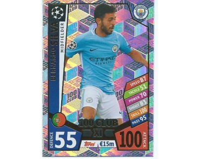 MATCH ATTAX CHAMPIONS LEAGUE 17/18 100 CLUB Nº 426