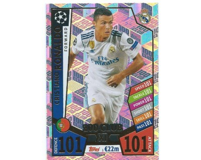MATCH ATTAX CHAMPIONS LEAGUE 17/18 100 CLUB Nº 428