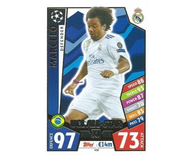 MATCH ATTAX CHAMPIONS LEAGUE 17/18 UCL ALL STAR Nº 432