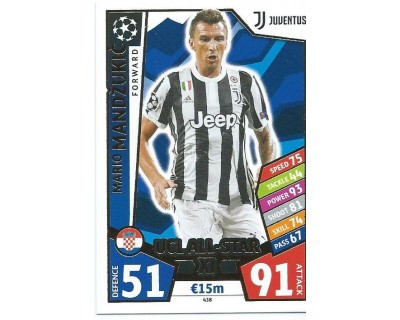 MATCH ATTAX CHAMPIONS LEAGUE 17/18 UCL ALL STAR Nº 438