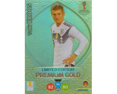 Adrenalyn World Cup 2018 KROOS PREMIUM GOLD LIMITED EDITION