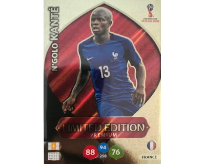 Adrenalyn World Cup 2018 KANTE PREMIUM LIMITED EDITION