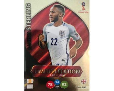 Adrenalyn World Cup 2018 STERLING PREMIUM LIMITED EDITION